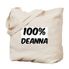 100 Percent Deanna Tote Bag