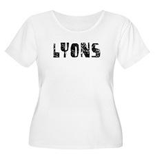 Lyons Faded (Black) T-Shirt
