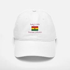Daddy's little Ghanaian Princess Baseball Baseball Cap