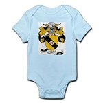 Acuna Family Crest Infant Creeper