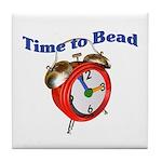 Time to Bead Tile Coaster