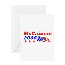 McCainiac 2008 Greeting Card