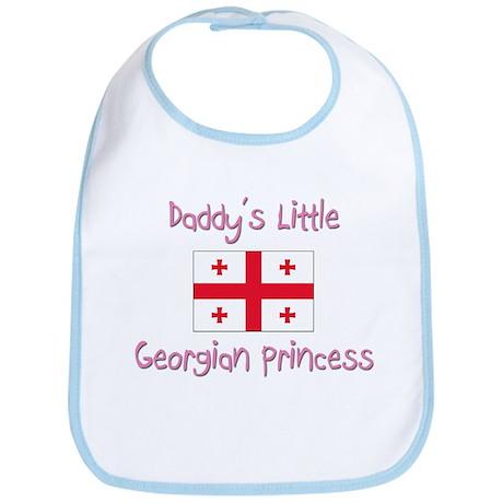 Daddy's little Georgian Princess Bib