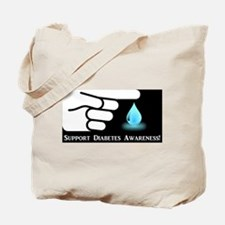 Diabetes Support Tote Bag