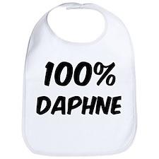 100 Percent Daphne Bib