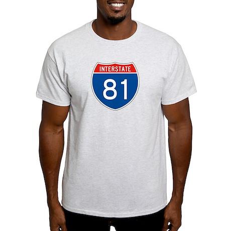 Interstate 81, USA Light T-Shirt