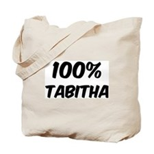 100 Percent Tabitha Tote Bag
