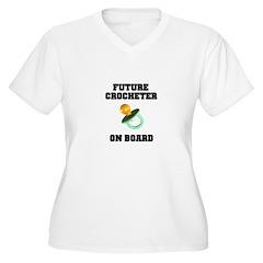 Baby On Board - Future Crocheter T-Shirt