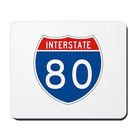 Interstate 80, USA Mousepad