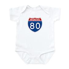 Interstate 80, USA Infant Bodysuit