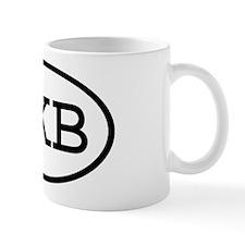 OKB Oval Mug