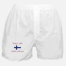 Daddy's little Finnish Princess Boxer Shorts