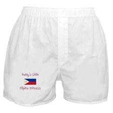 Daddy's little Filipino Princess Boxer Shorts