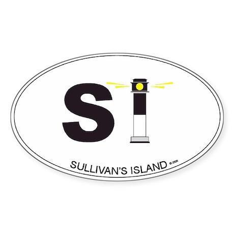 Sullivan's Island Oval Sticker