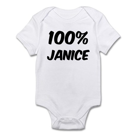 100 Percent Janice Infant Bodysuit