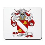 Aguirre Family Crest Mousepad