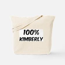 100 Percent Kimberly Tote Bag
