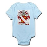 Aguirre Family Crest Infant Creeper