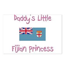 Daddy's little Fijian Princess Postcards (Package