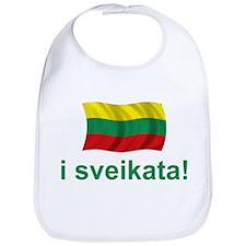 Lithuanian i sveikata! Bib