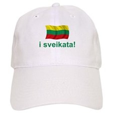 Lithuanian i sveikata! Baseball Cap
