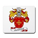 Alarcon Family Crest Mousepad
