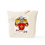 Alarcon Family Crest Tote Bag