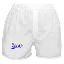 Vintage Leeds (Blue) Boxer Shorts