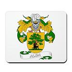 Alba Family Crest Mousepad