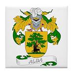 Alba Family Crest Tile Coaster
