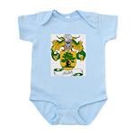 Alba Family Crest Infant Creeper
