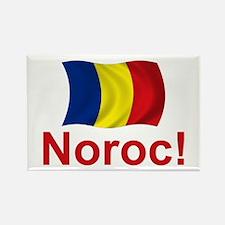 Romanian Noroc! Rectangle Magnet