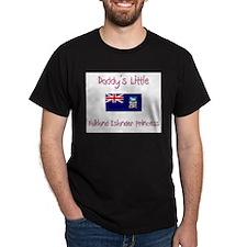 Daddy's little Falkland Islander Princess T-Shirt