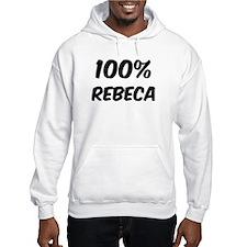 100 Percent Rebeca Hoodie Sweatshirt