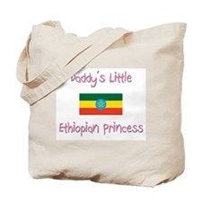 Daddy's little Ethiopian Princess Tote Bag
