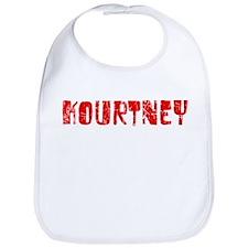 Kourtney Faded (Red) Bib
