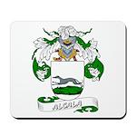 Alcala Family Crest Mousepad