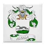 Alcala Family Crest Tile Coaster