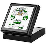 Alcala Family Crest Keepsake Box