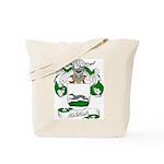 Alcala Family Crest Tote Bag
