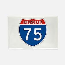 Interstate 75, USA Rectangle Magnet