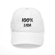 100 Percent Lisa Baseball Cap