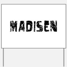 Madisen Faded (Black) Yard Sign