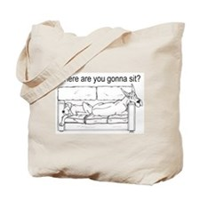 WhereRU Great Dane Tote Bag