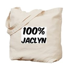 100 Percent Jaclyn Tote Bag