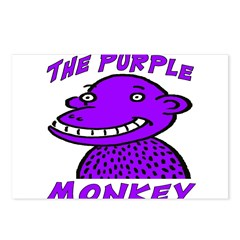 The Purple Monkey Postcards (Package of 8)