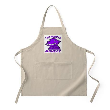 The Purple Monkey BBQ Apron