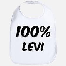 100 Percent Levi Bib