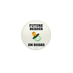 Future Beader on Board - Mate Mini Button (10 pack