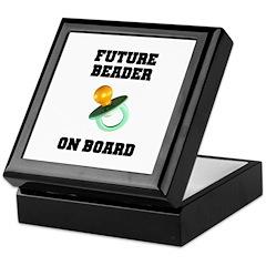 Future Beader on Board - Mate Keepsake Box